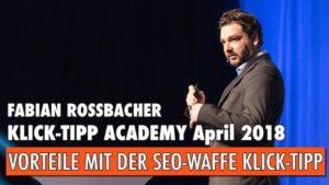 SEO Optimierung Fabian Rossbacher